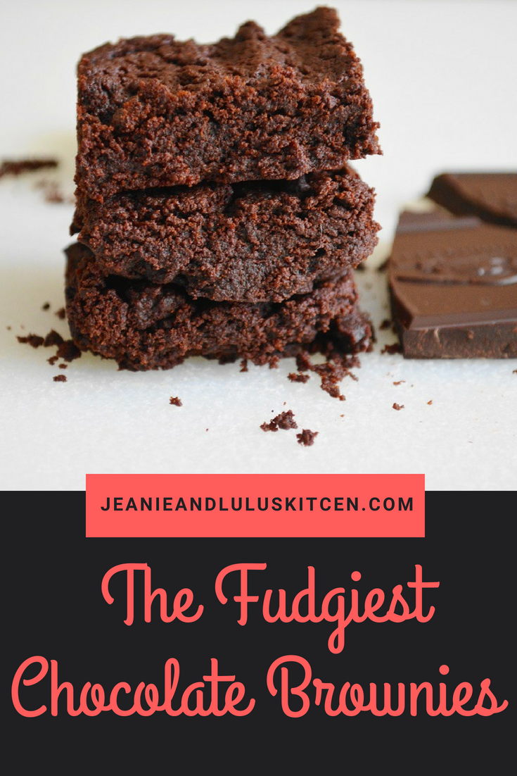 The Fudgiest Chocolate Brownies