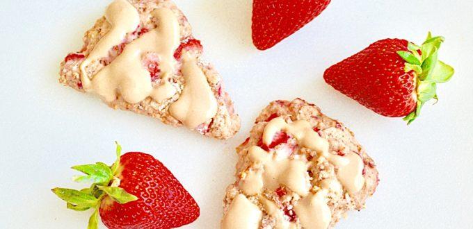 Strawberry Mascarpone Scones