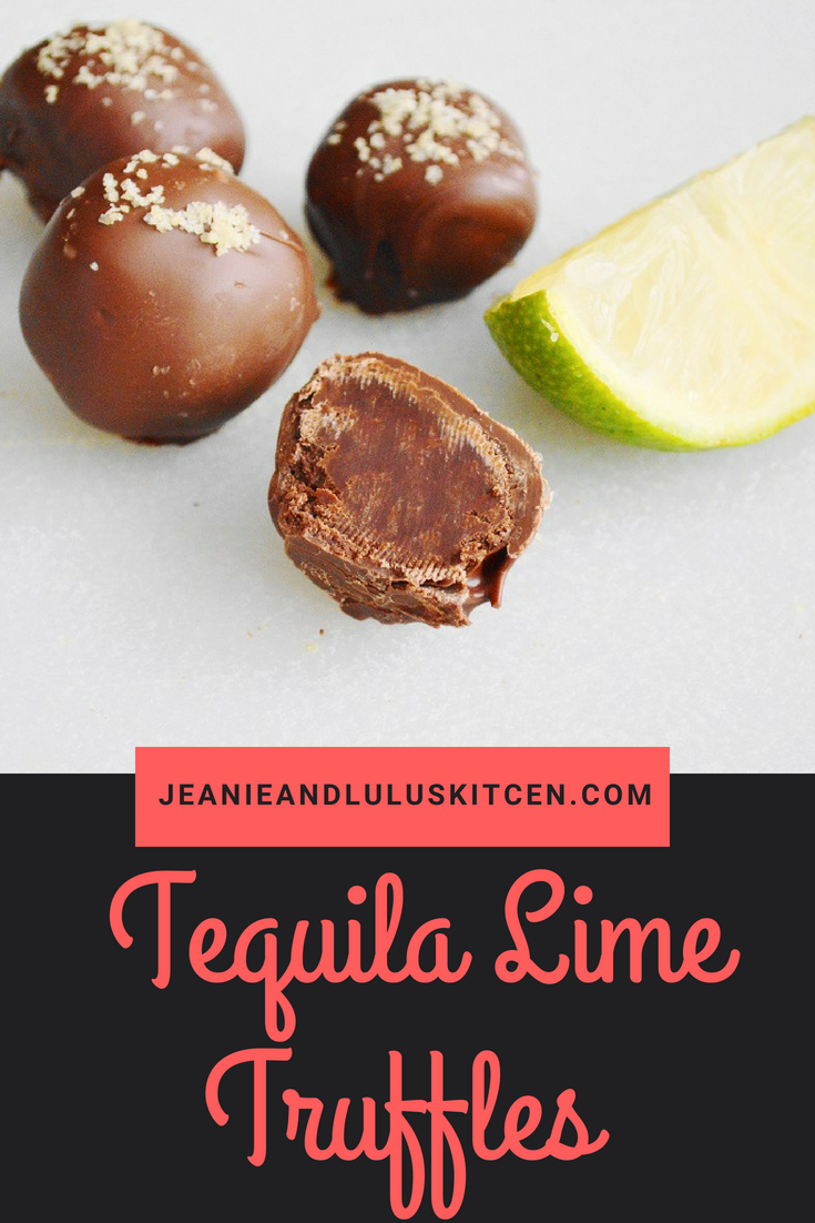 Tequila Lime Truffles