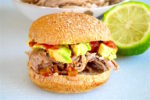 Tequila Lime Pulled Pork Sandwiches