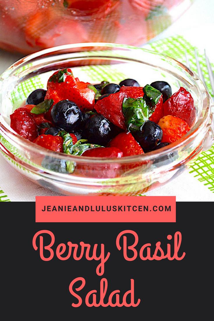Berry Basil Salad