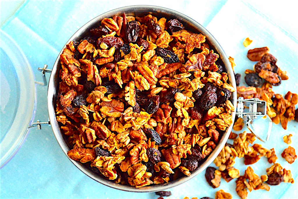 Maple Pecan Granola