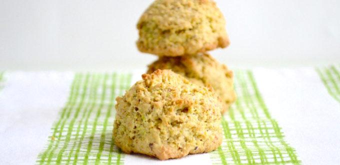 Pistachio Rose Cookies