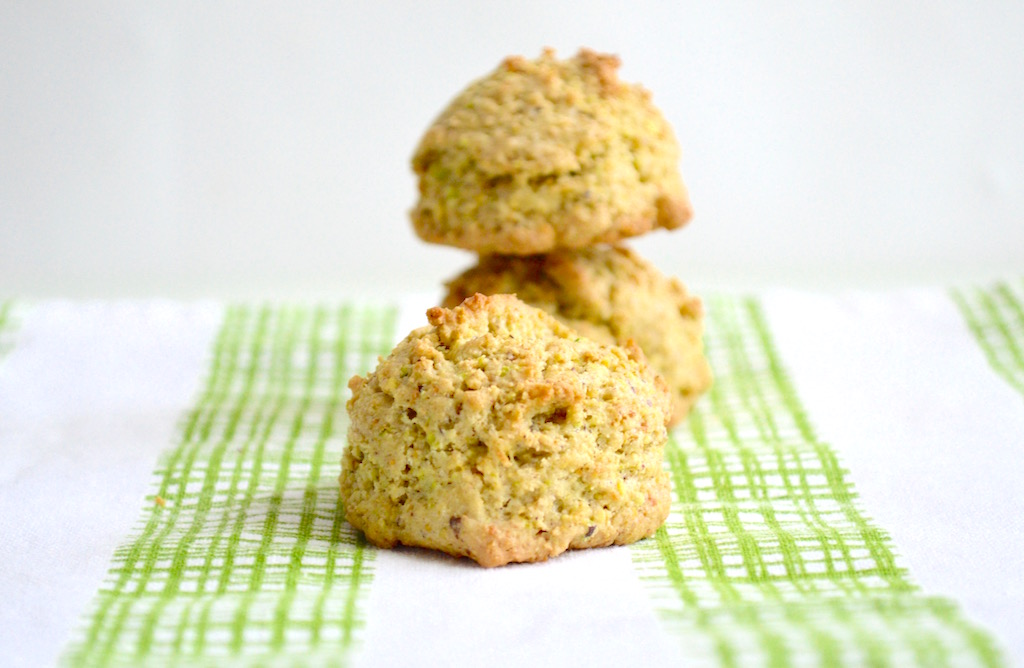 Pistachio Rose Cookies