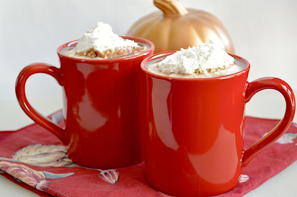 Slow Cooker Pumpkin Spiced Hot Cocoa
