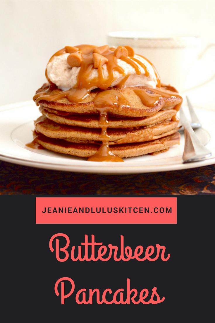 Butterbeer Pancakes
