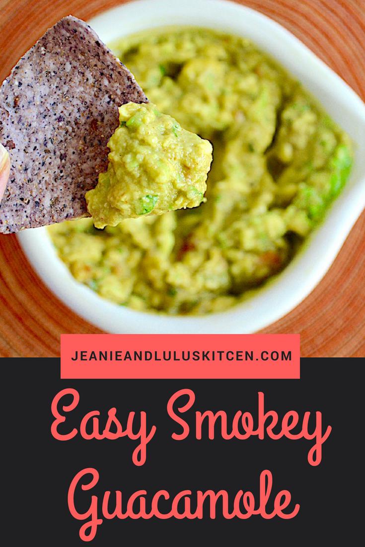 Easy Smokey Guacamole