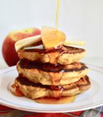 Apple Oat Pancakes