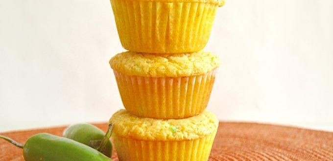 Cheddar Jalapeno Corn Muffins