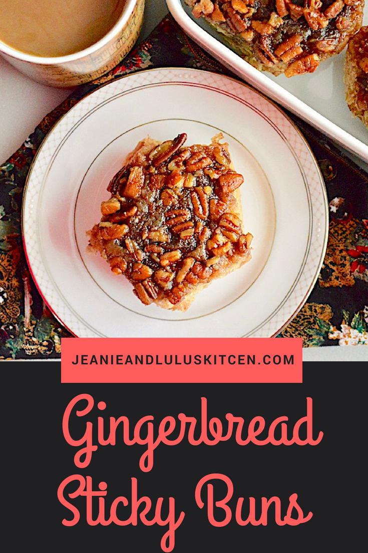 Gingerbread Sticky Buns