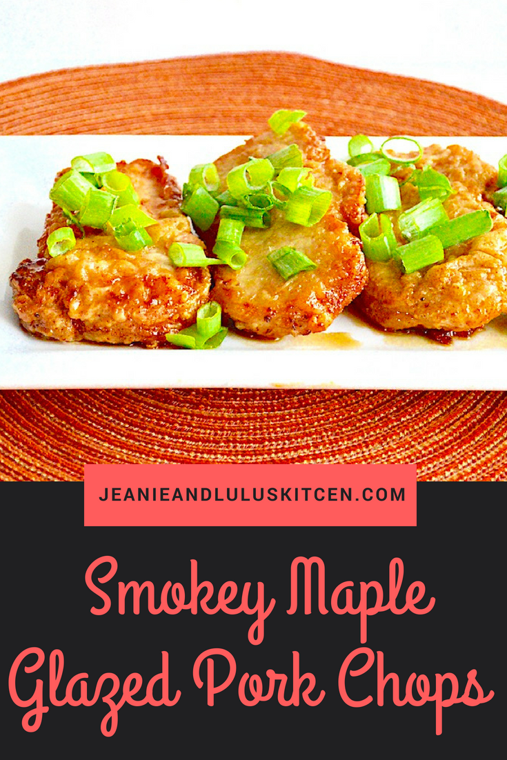 Smokey Maple Glazed Pork Chops