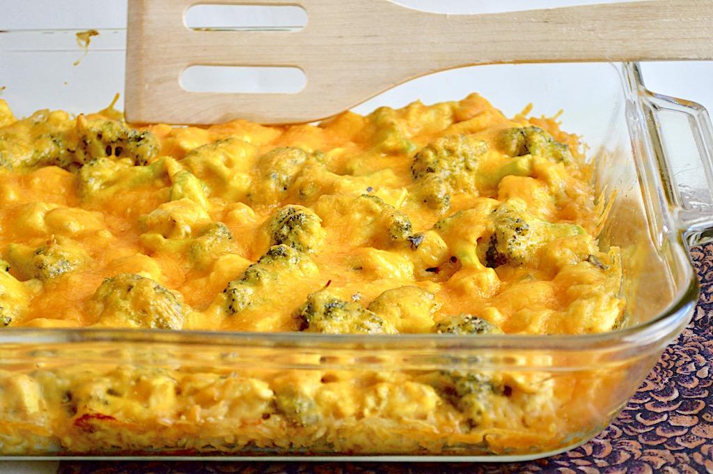 Curried Chicken Broccoli Casserole