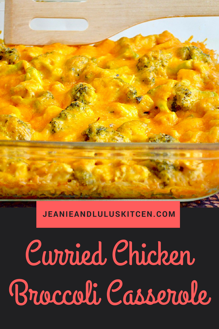 Curried Chicken Broccoli Casserole
