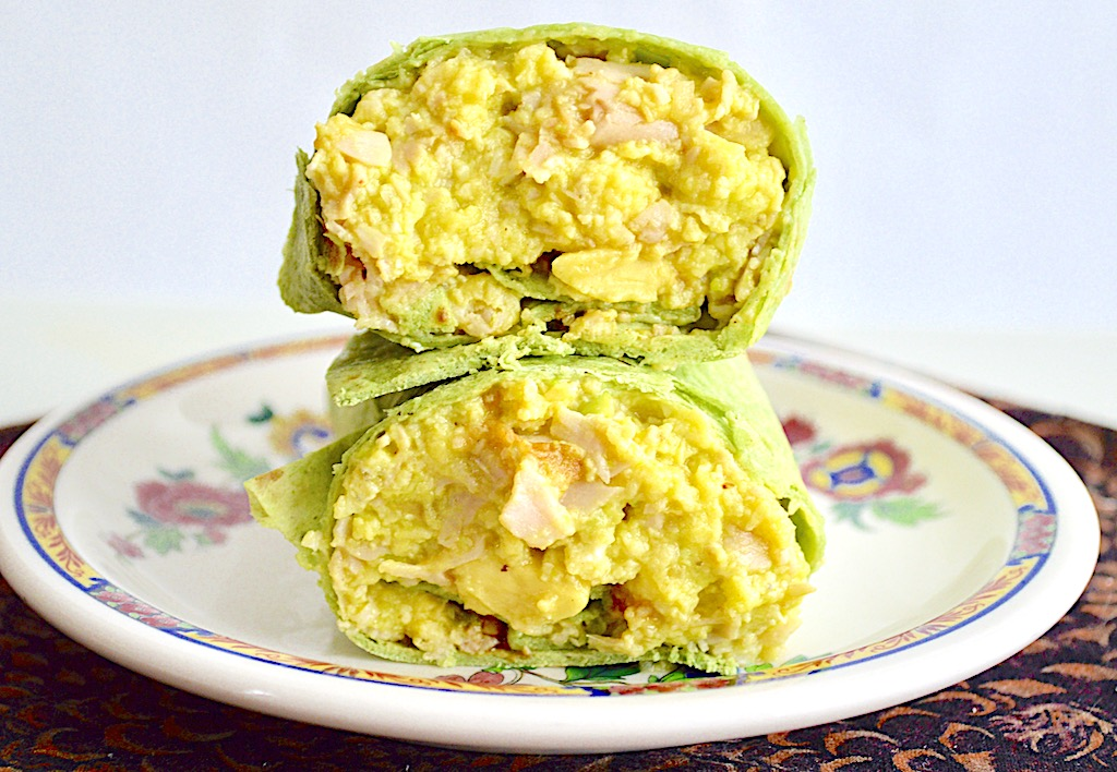 Turkey Avocado Breakfast Burritos