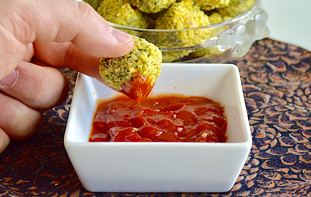 Baked Broccoli Tots