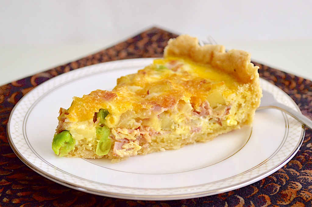 Loaded Ham Quiche