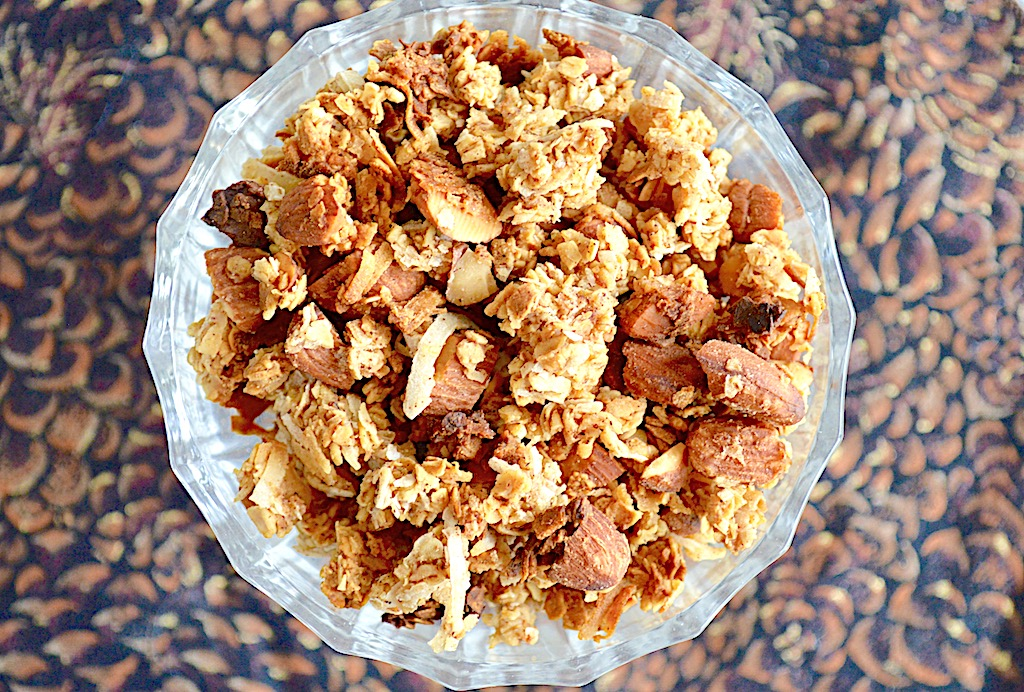 Pineapple Coconut Granola