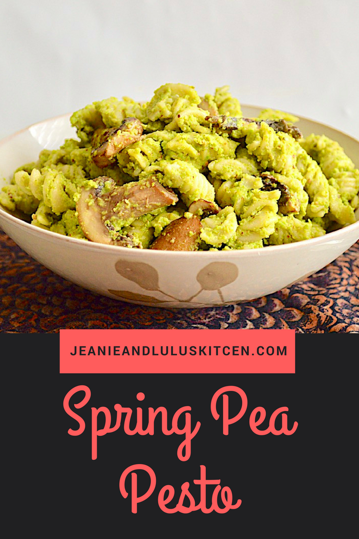 Spring Pea Pesto