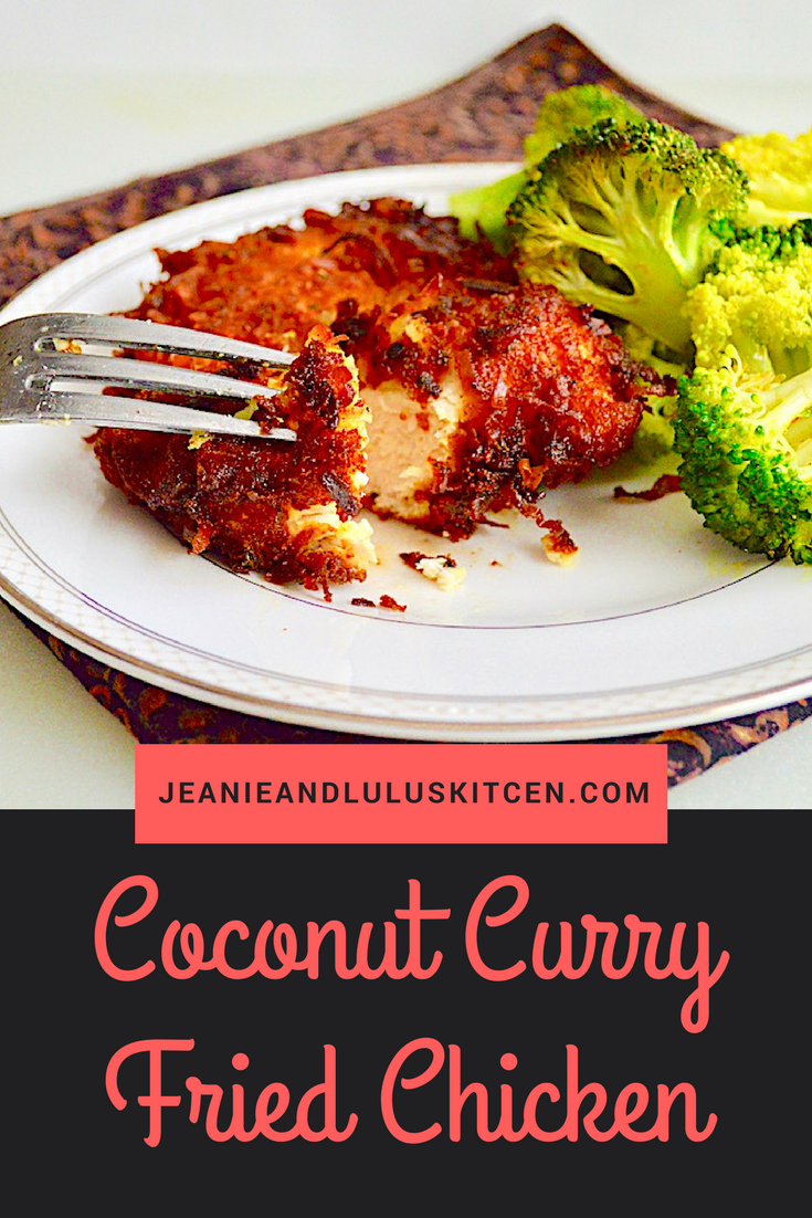 Coconut Curry Fried Chicken Cutlets