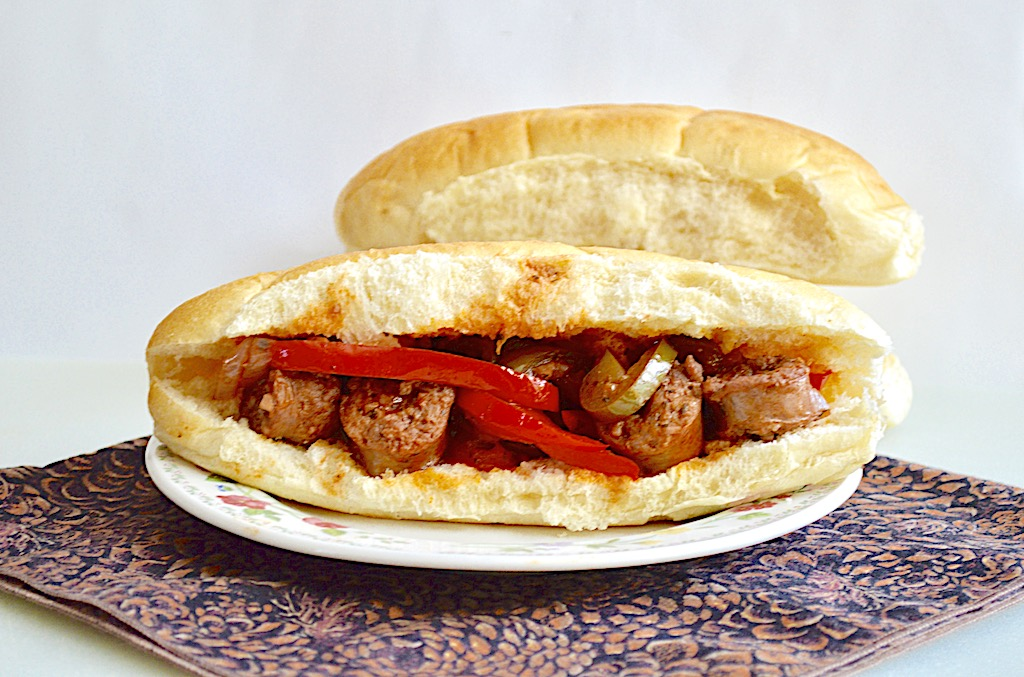 Sausage, Pepper and Onion Sandwiches