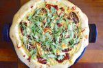 Sun-Dried Tomato Arugula White Pizza