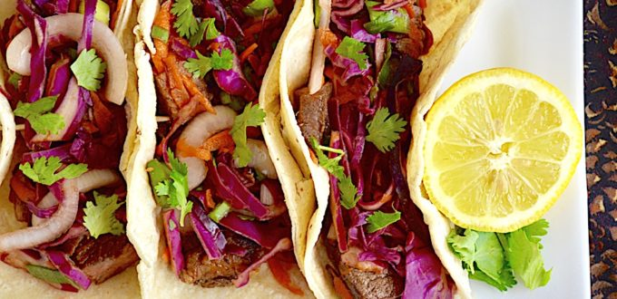 Asian Short Rib Tacos