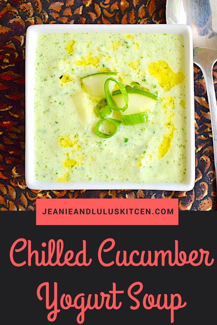 Chilled Cucumber Yogurt Soup