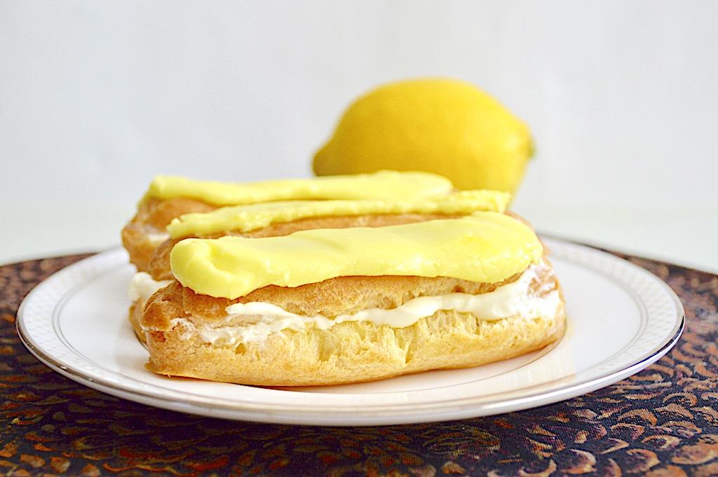 Lemon Eclairs