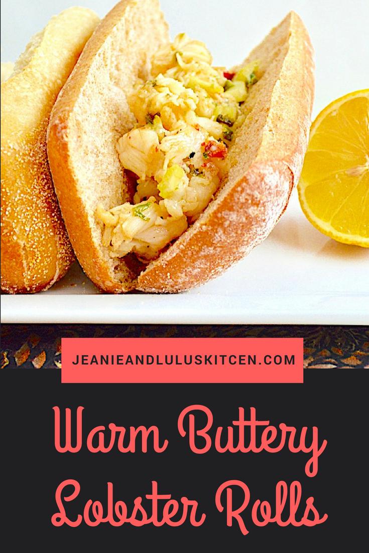 Warm Buttery Lobster Rolls