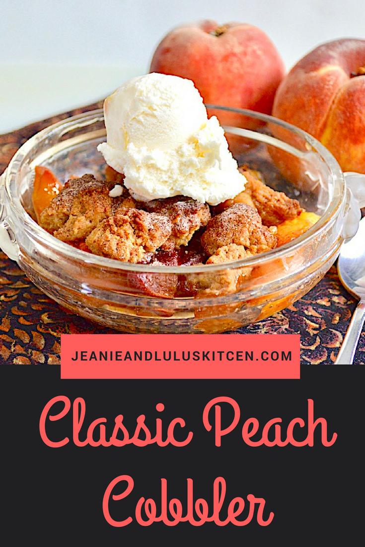 Classic Peach Cobbler