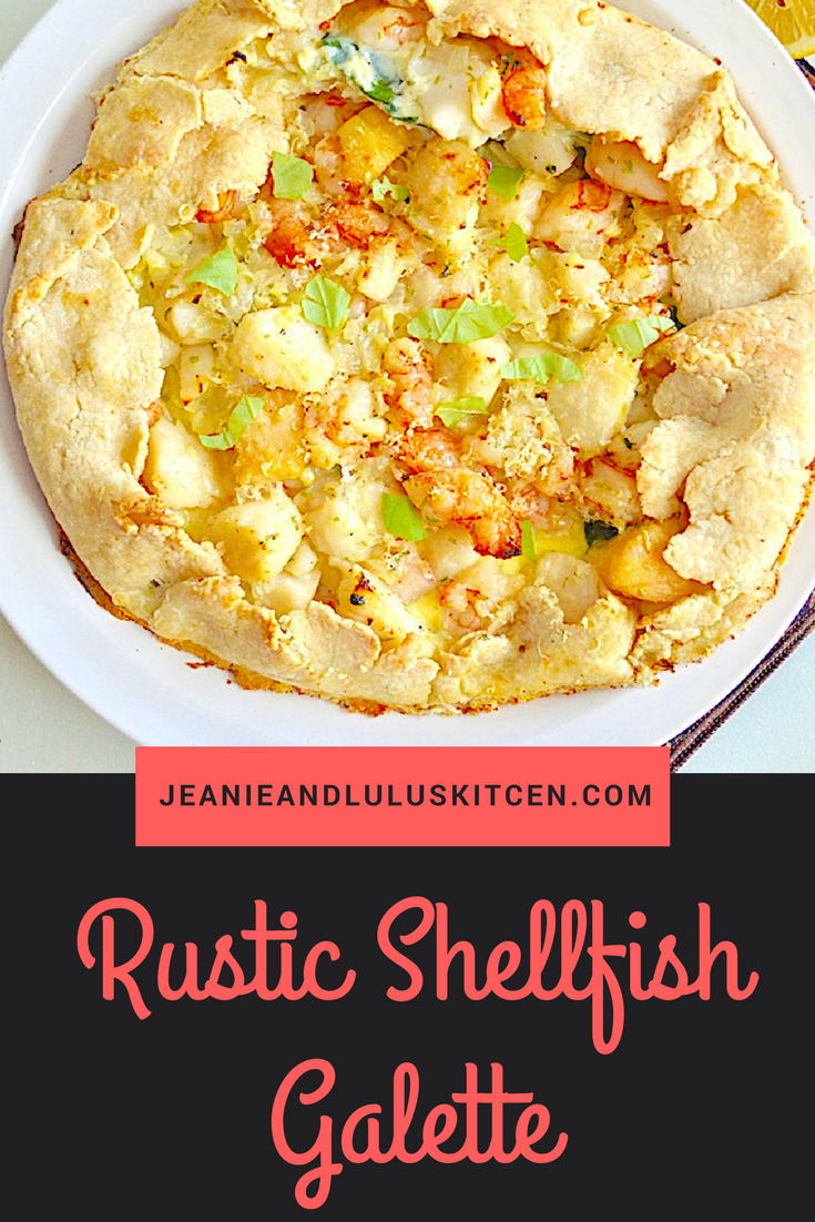 Rustic Shellfish Galette