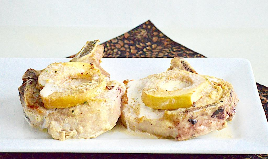 Normandy Style Pork Chops