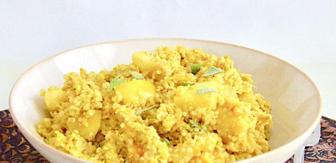 Fall Harvest Chicken Quinoa Bowls