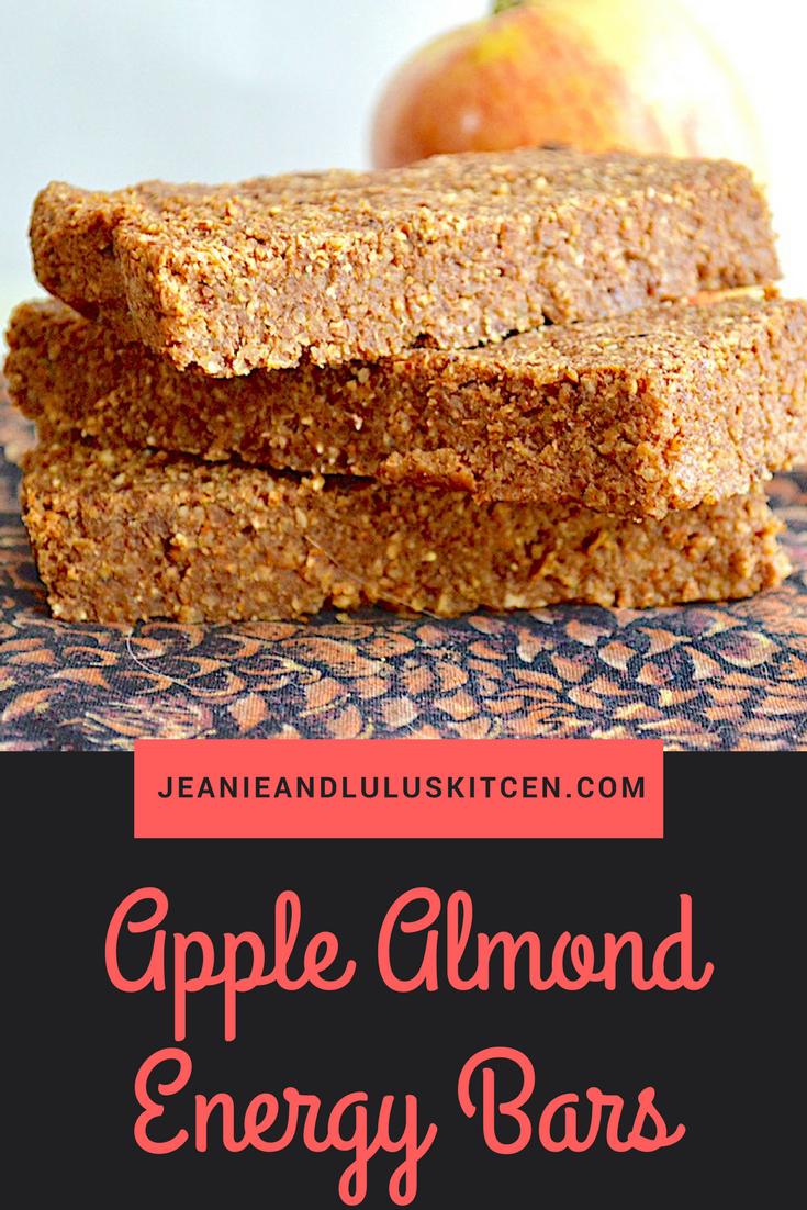 Apple Almond Energy Bars
