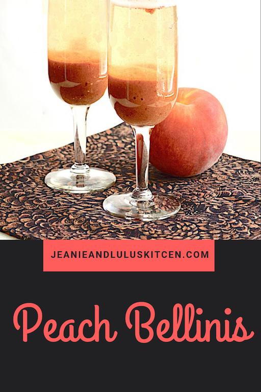 Peach Bellinis