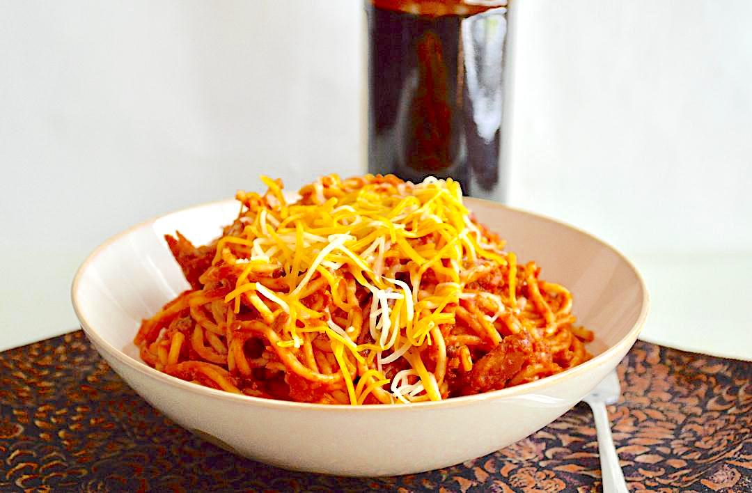 Pumpkin Chili Spaghetti