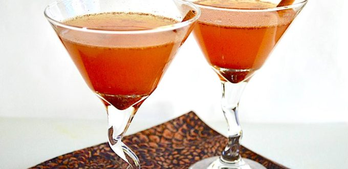 Spiced Apple Brandy Cocktails