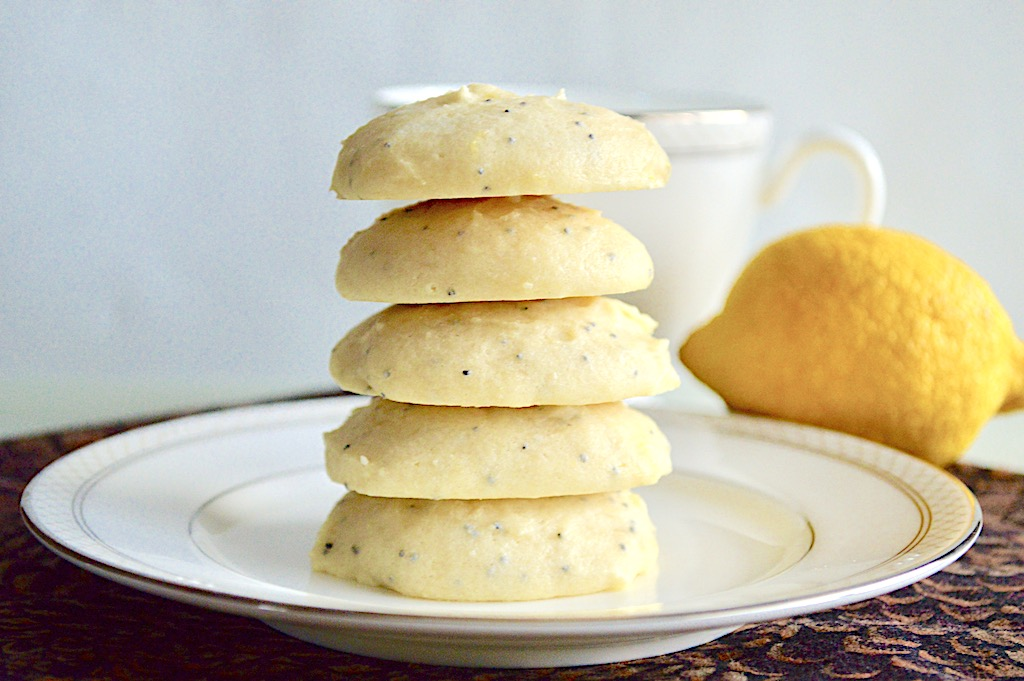 Lemon Ricotta Poppy Seed Cookies