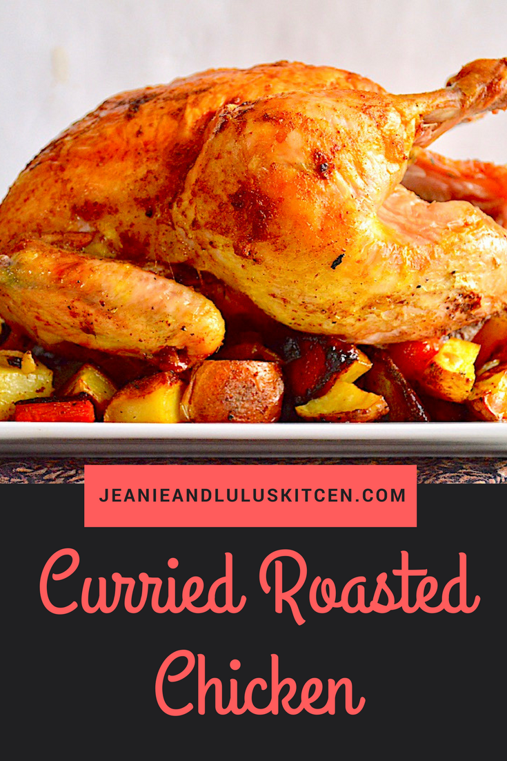 Curried Roasted Chicken and Veggies