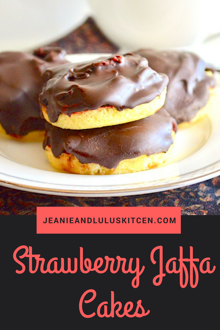 Strawberry Jaffa Cakes