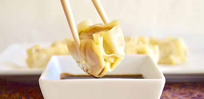 Steamed Shrimp Shu Mai