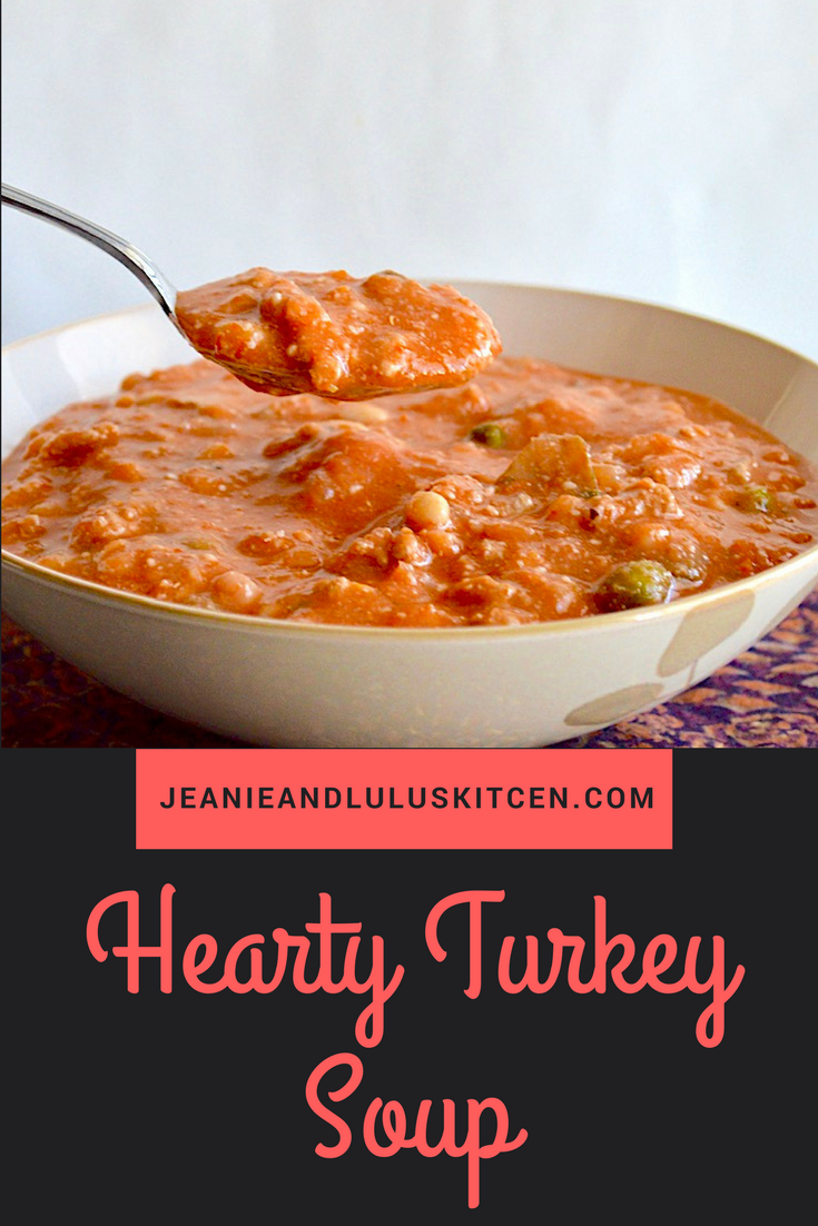 Hearty Turkey Soup