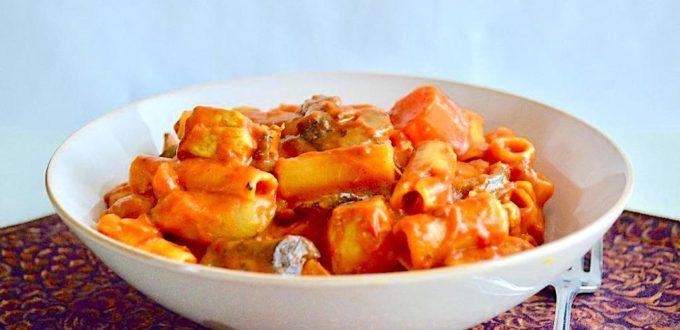 Curried Chicken Veggie Pasta