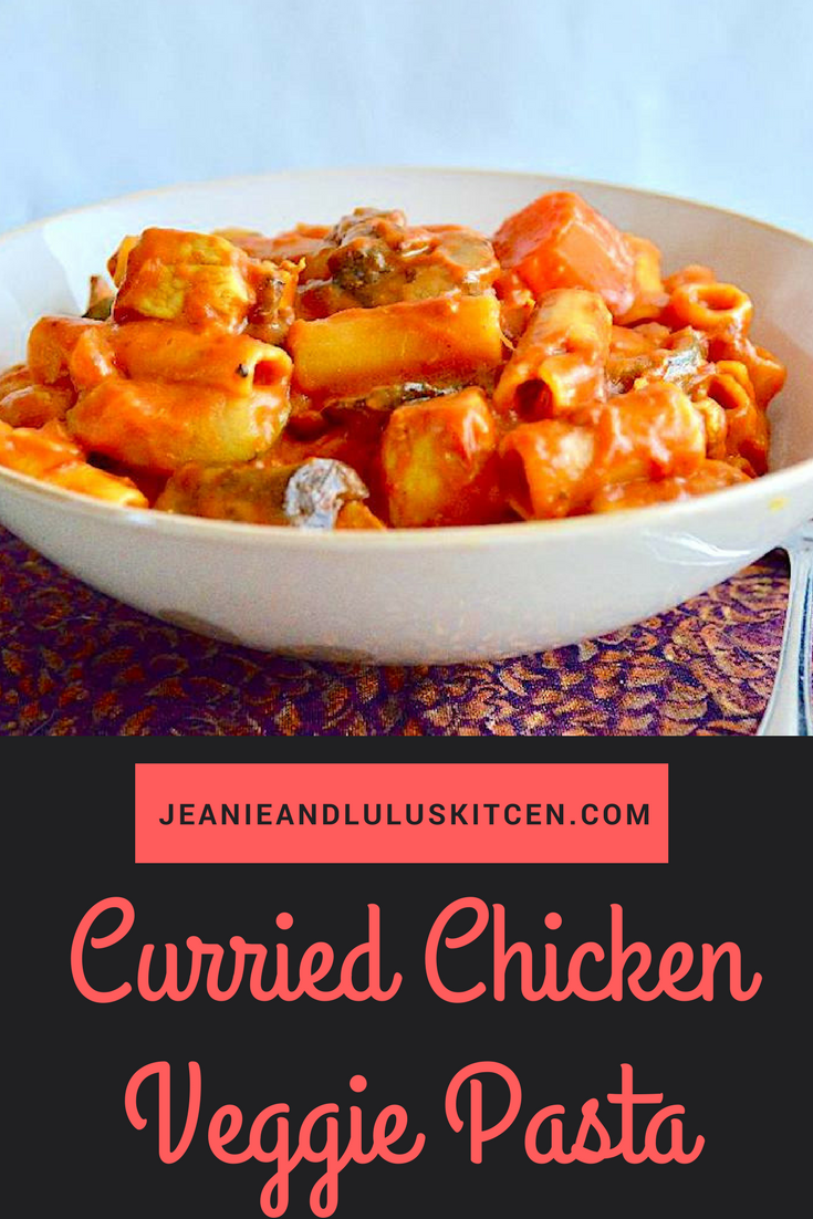 Curried Chicken Veggie Pasta