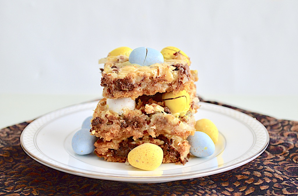 Mini Egg Magic Bars