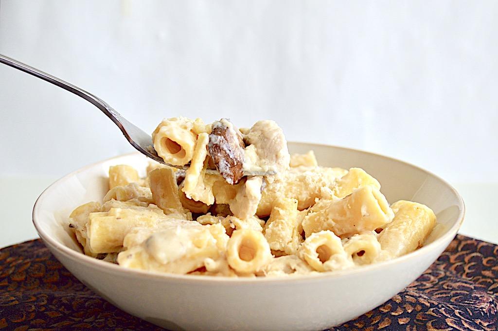 Creamy Mushroom Chicken Pasta