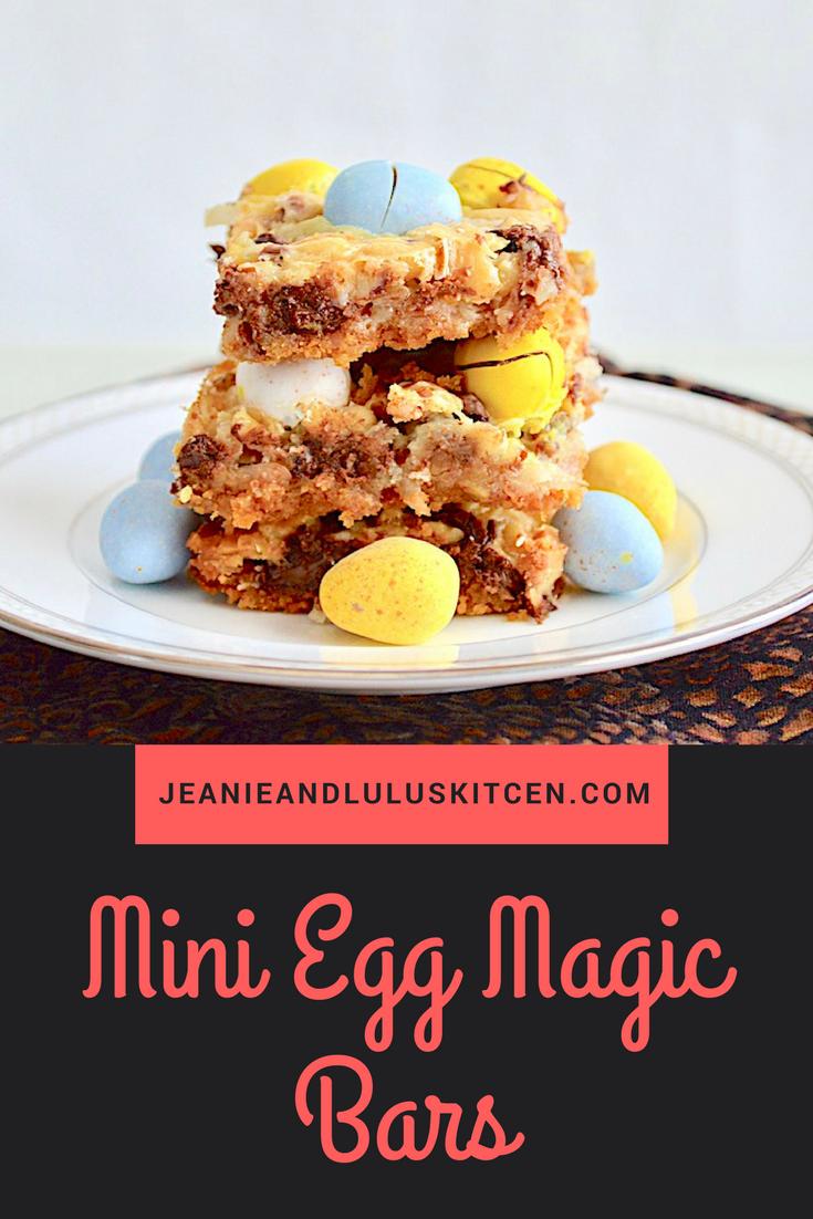Mini Egg Magic Bars