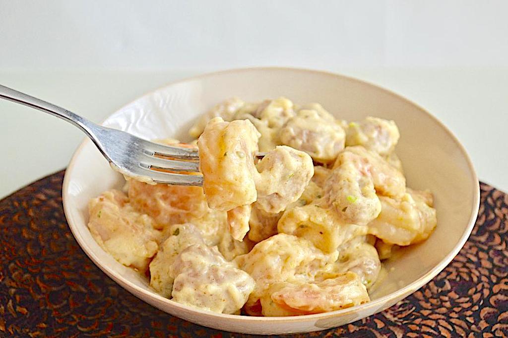 Parmesan Cream Shrimp Pasta