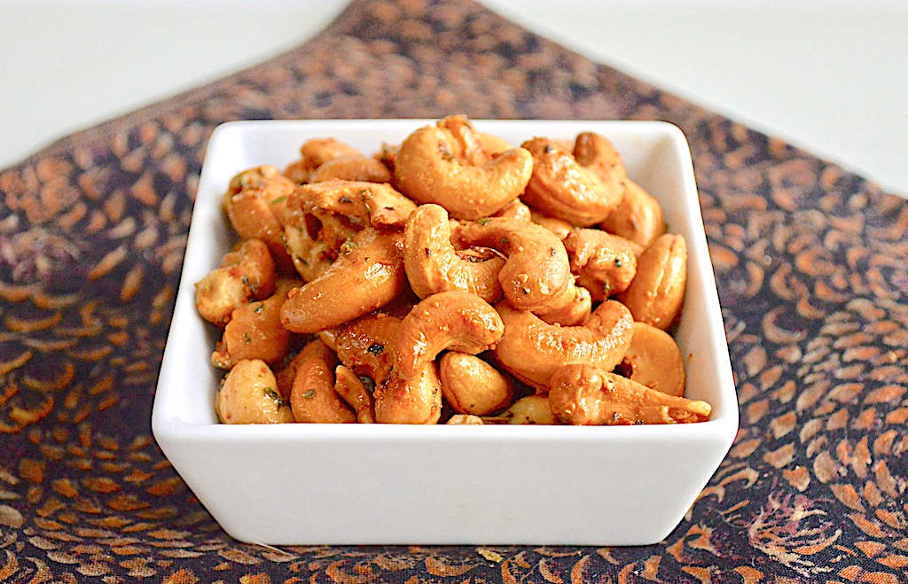 Parmesan Herb Roasted Cashews