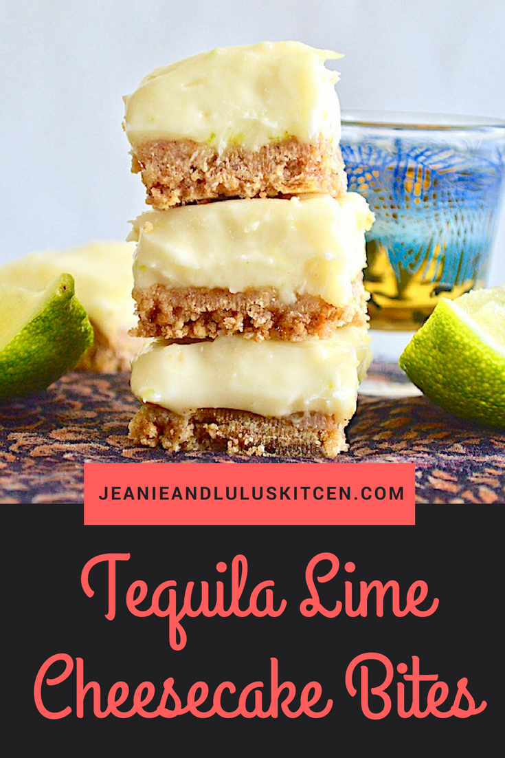 Tequila Lime Cheesecake Bites